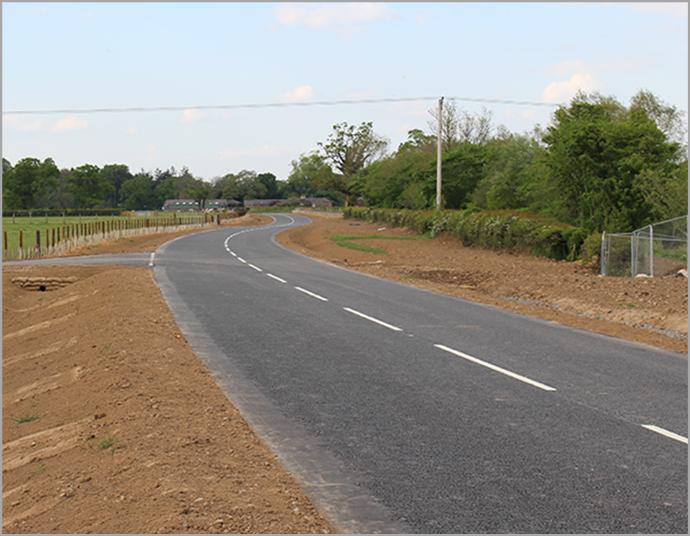 A stretch of road