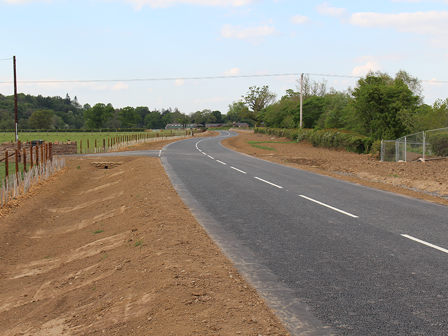 A stretch of road in Wetheral